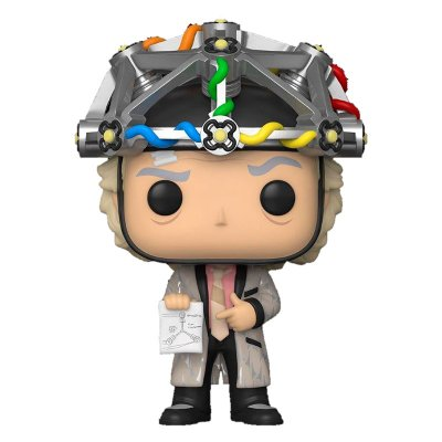 Funko POP! Movie: BTTF - Doc w/helmet (Back to the Future)