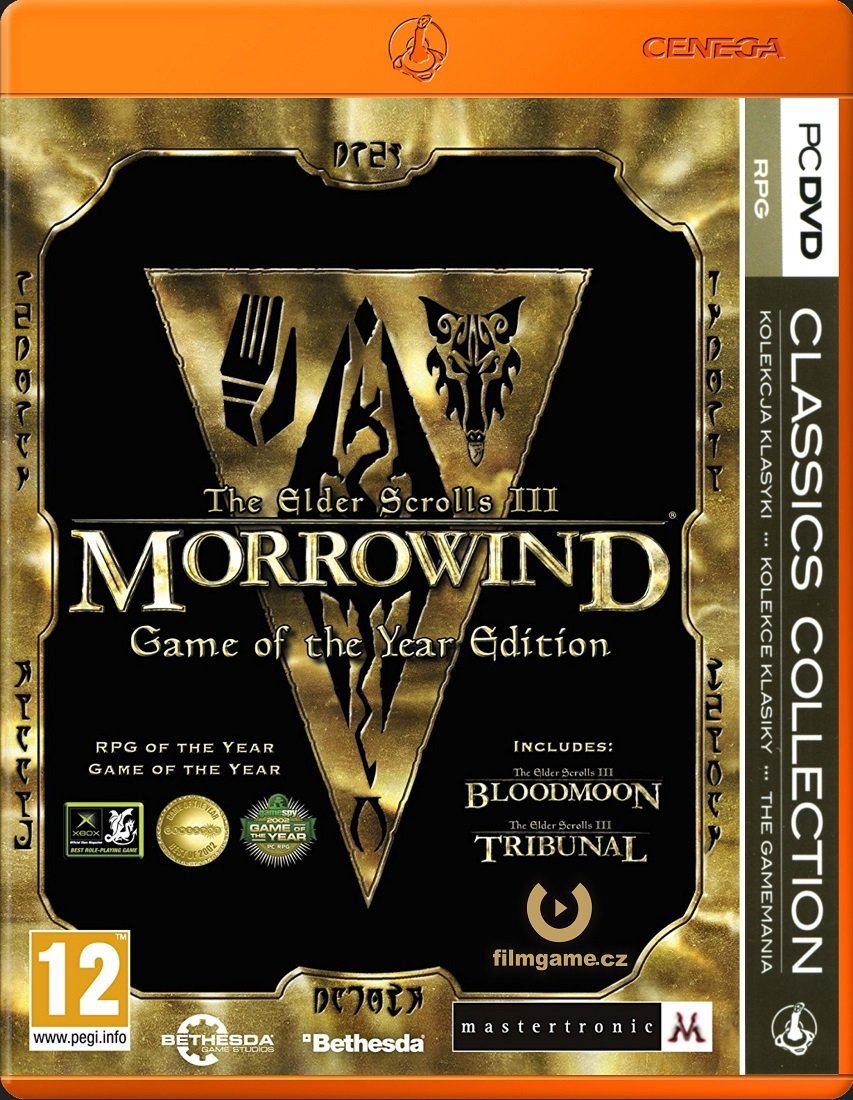 ELDER SCROLLS III: MORROWIND Game of the Year - PC