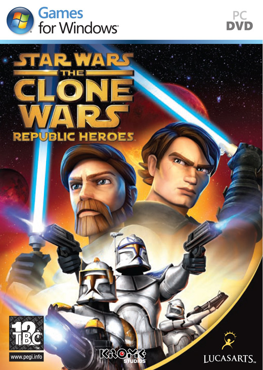 STAR WARS THE CLONE WARS: REPUBLIC HEROES - PC