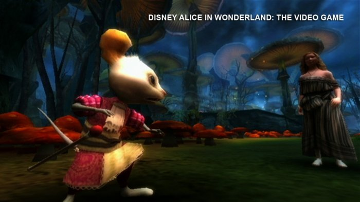detail Alice in Wonderland (DMK slim) - PC