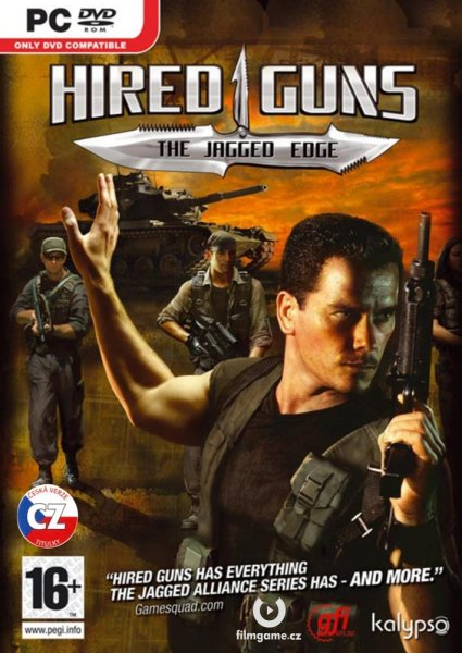 detail Hired Guns: The Jagged Edge - PC