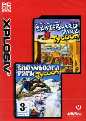 Skate + Snowboard Tycoon - 2 Hry - PC