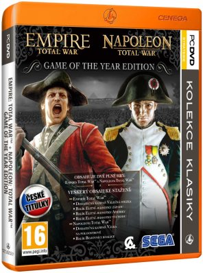 Empire Platinum Pack: Napoleon Total War+Empire Total War PC