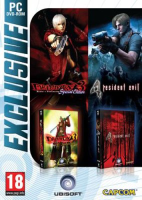 Devil May Cry 3 Special Edition + Resident Evil 4 zlatá edice - PC