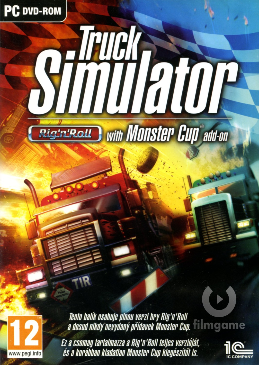 TRUCK SIMULATOR: RIG N ROLL GOLD EDITION - PC