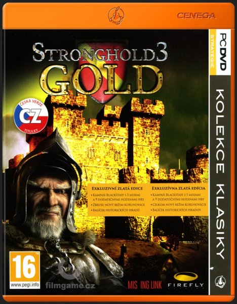 detail STRONGHOLD 3 GOLD CZ - PC