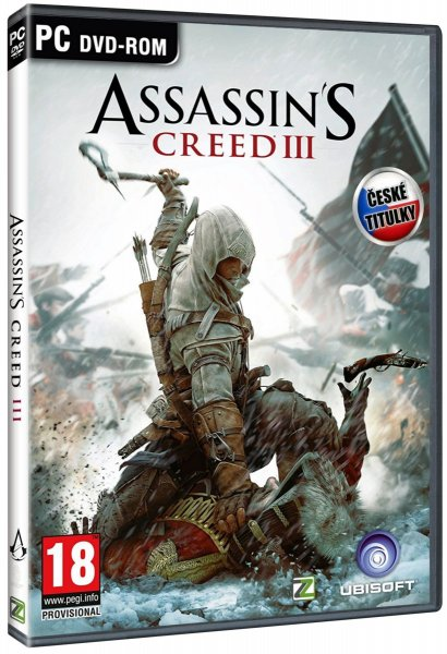 detail ASSASSINS CREED III - PC