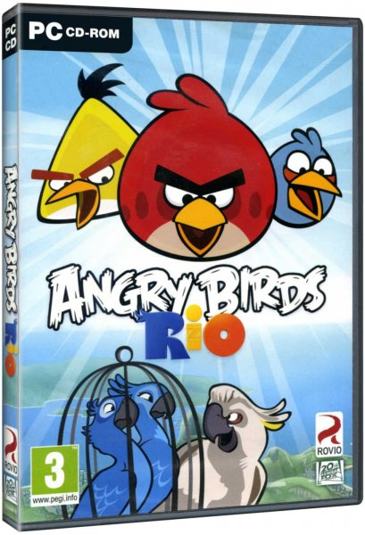 detail Angry Birds: Rio - PC