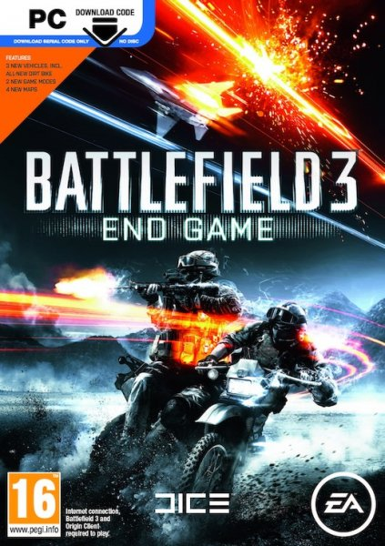 detail BATTLEFIELD 3: END GAME - PC
