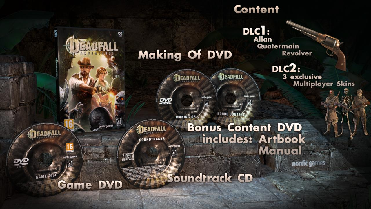 Deadfall Adventures - Collectors edition