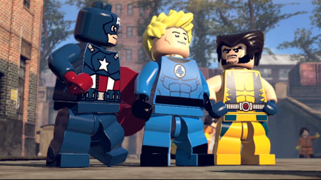 detail LEGO Marvel Super Heroes PC