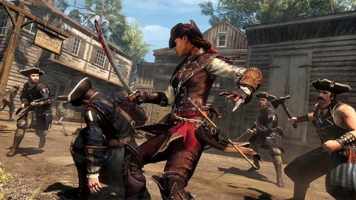 detail Assassins Creed Liberation HD - PC (Code Uplay)