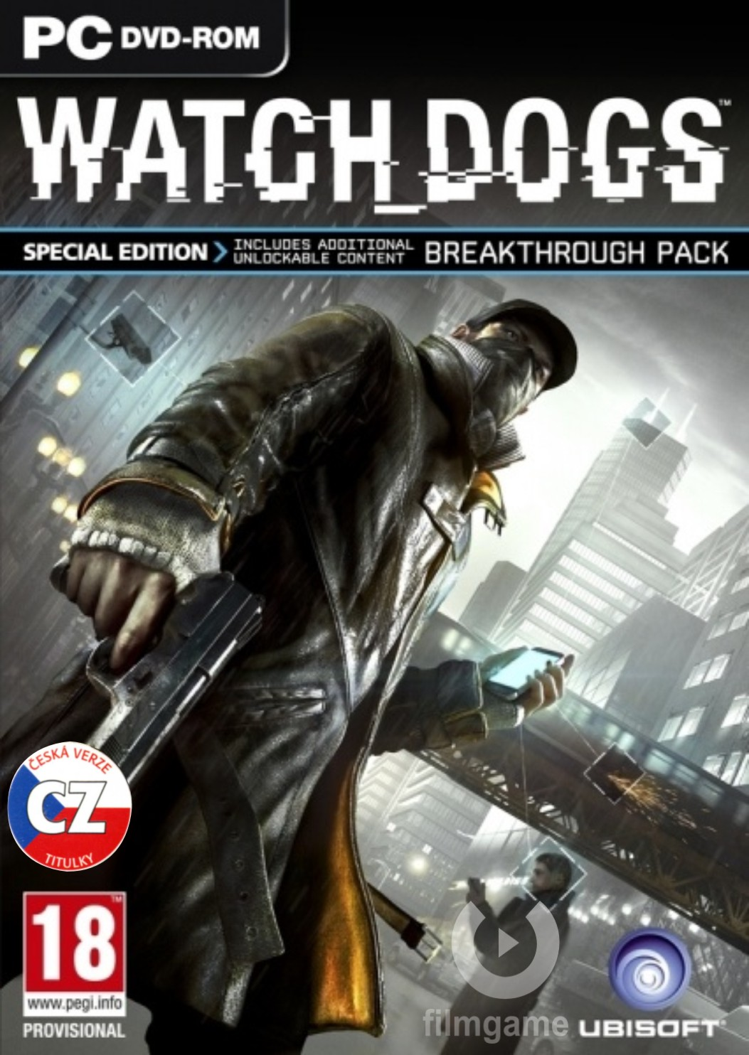 WATCH DOGS SPECIAL EDITION CZ - PC