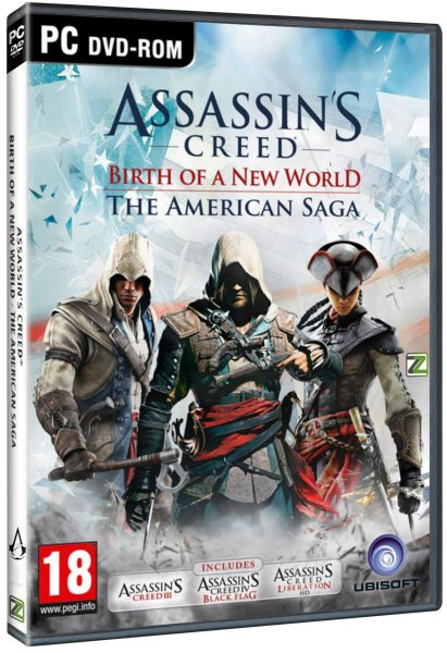 detail ASSASSINS CREED: THE AMERICAN SAGA COLLECTION - PC