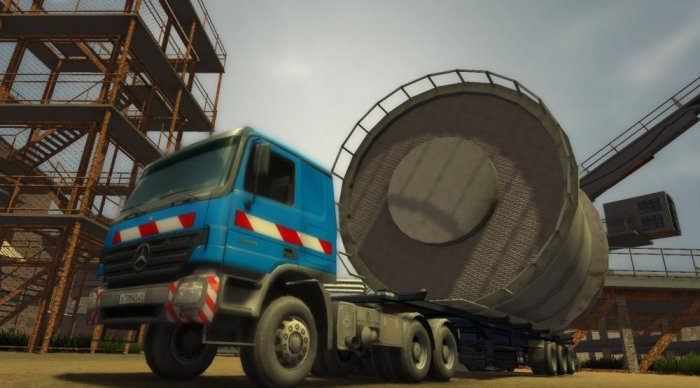 detail Heavy Weight Transport Simulator CZ - PC