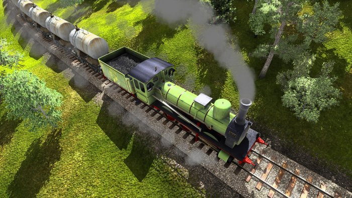 detail TRAIN FEVER - PC