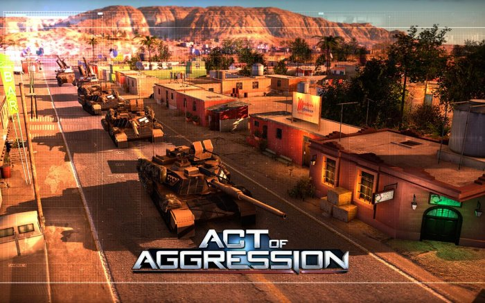 detail Act of Aggression - PC