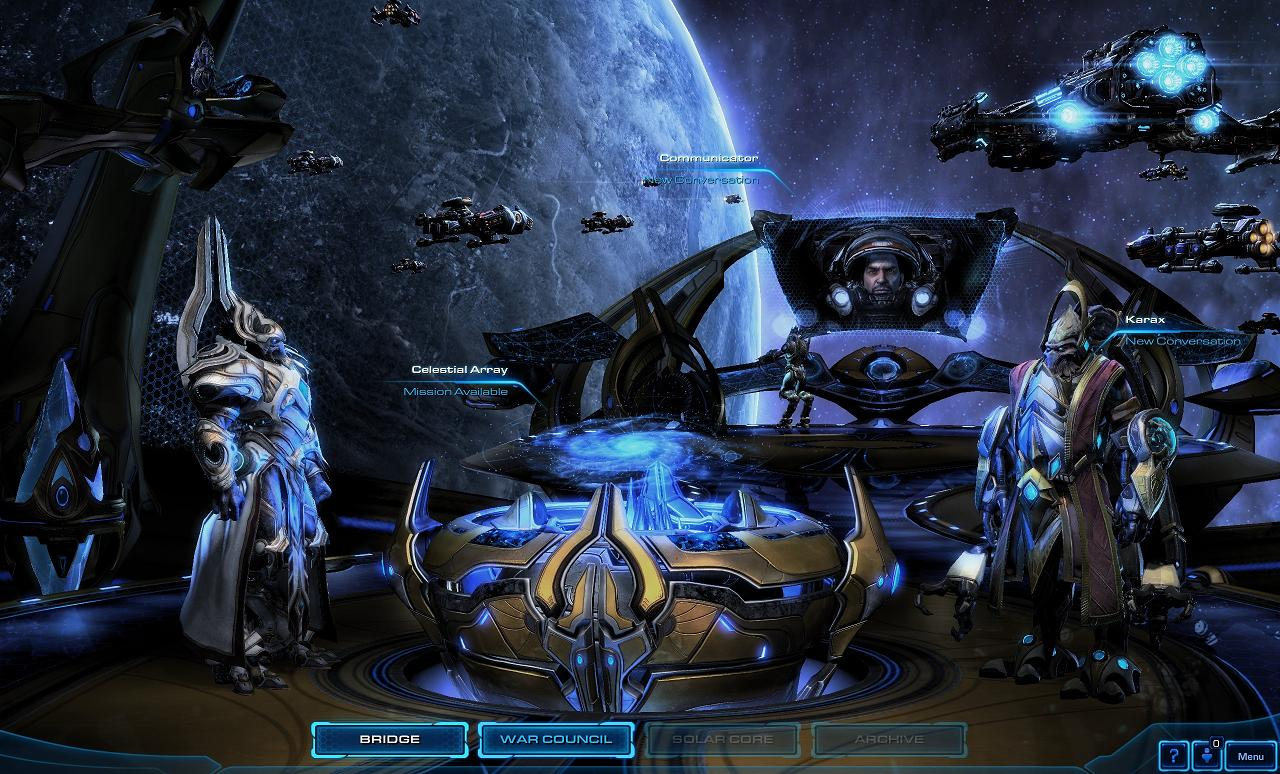 - StarCraft II: Legacy of the Void