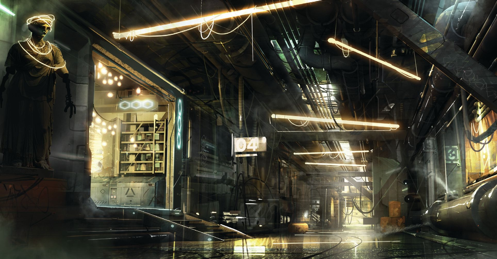 - Deus Ex: Mankind Divided