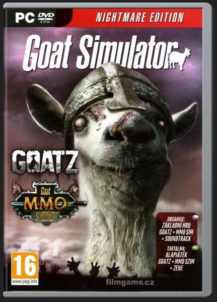 detail GOAT SIMULATOR NIGHTMARE EDITION - PC