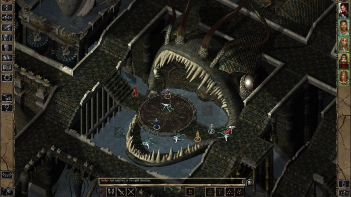 detail BALDURS GATE ENHANCED EDITION - PC