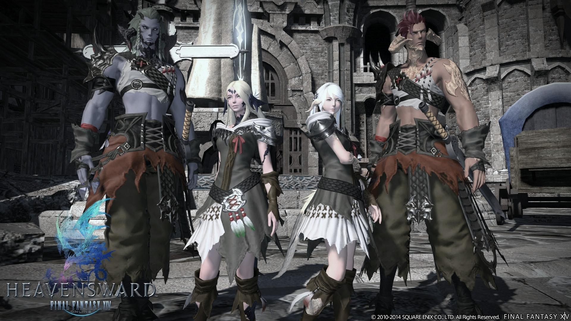 Final Fantasy XIV: Heavensward + Final Fantasy XIV: A Realm Reborn pro PC hra