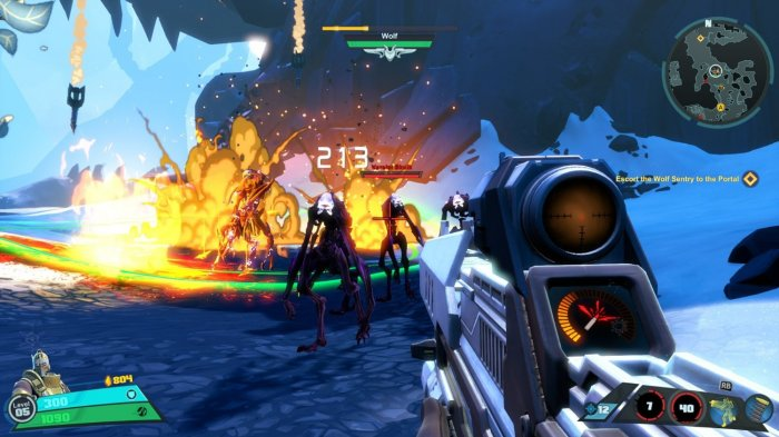 detail BATTLEBORN - PC