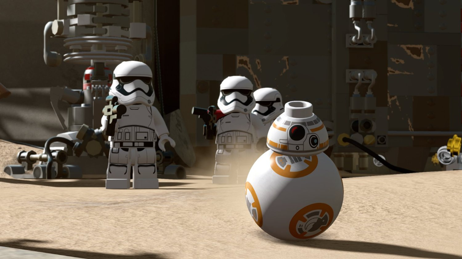 - Lego Star Wars: The Force Awakens