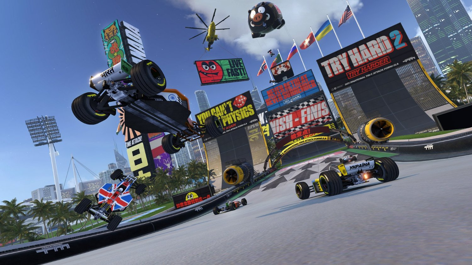 - Trackmania Turbo