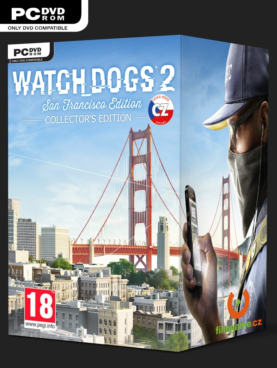 WATCH DOGS 2 SAN FRANCISCO EDITION CZ - PC