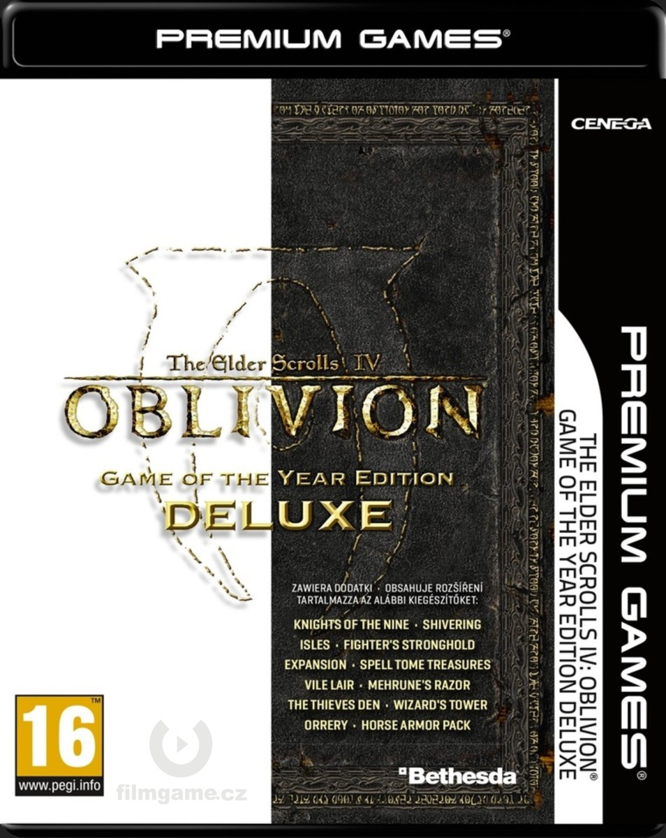 THE ELDER SCROLLS IV: OBLIVION Game of the Year Edition DELUXE - PC