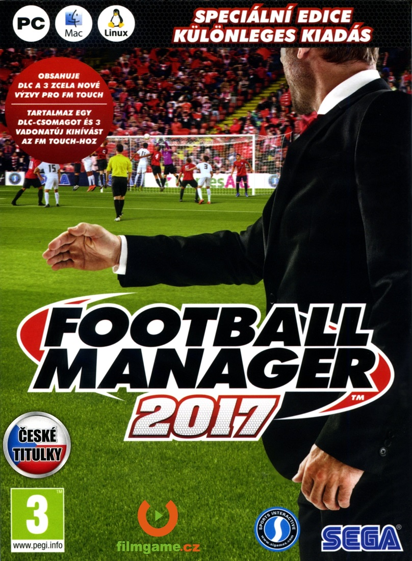 FOOTBALL MANAGER 2017 CZ (Limited Edition) - PC