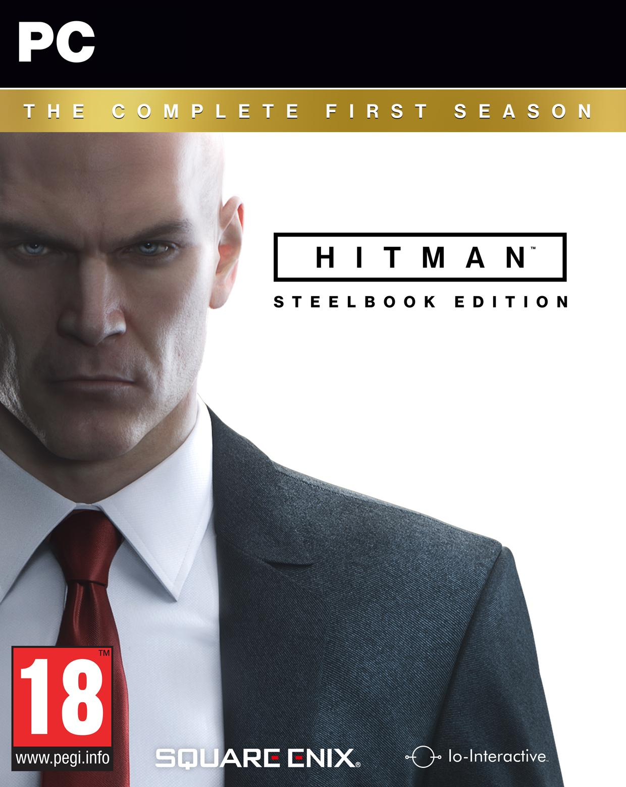 HITMAN THE COMPLETE FIRST SEASON STEELBOOK EDITION - PC