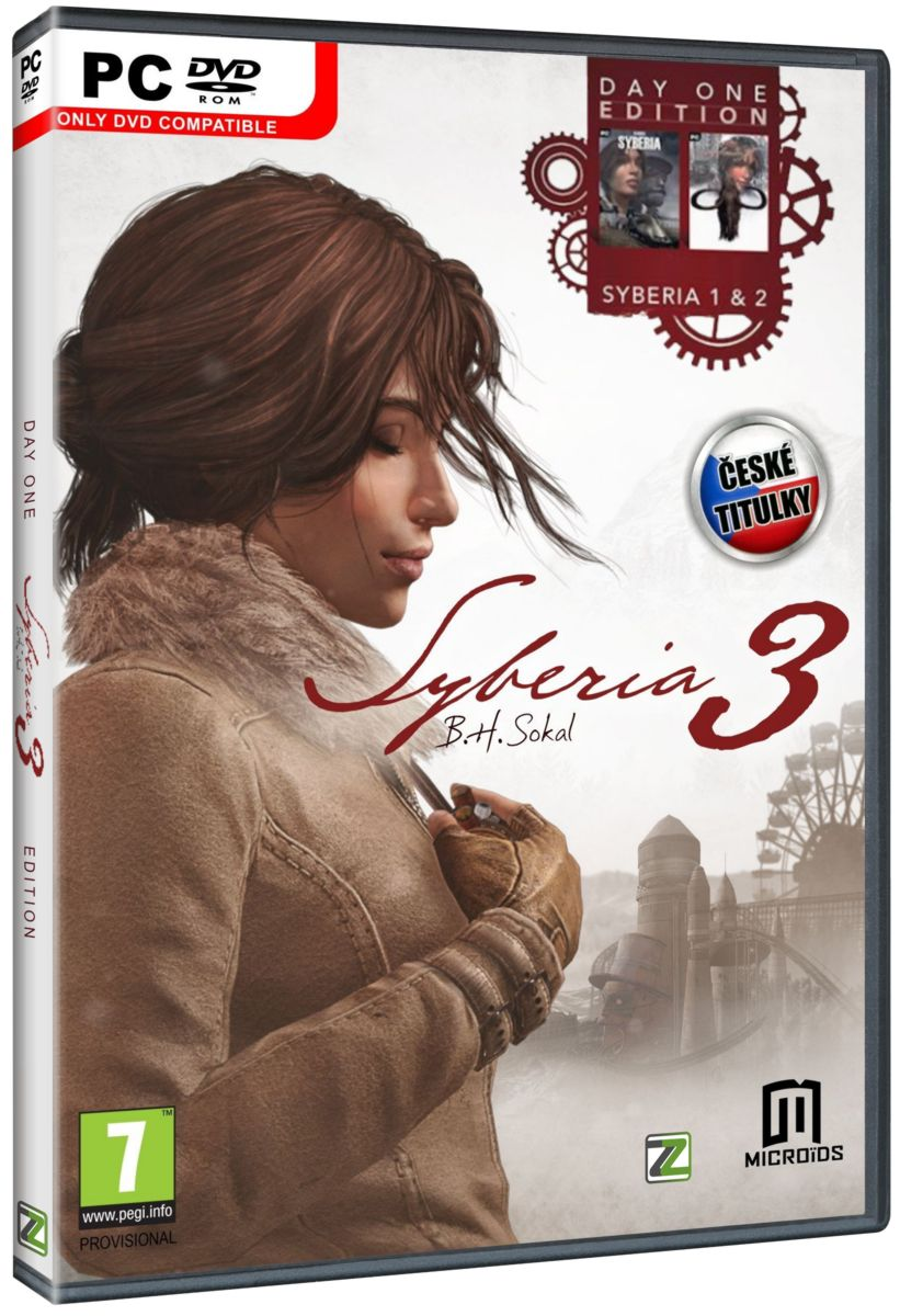 SYBERIA 3 (Day One Edition) CZ - PC