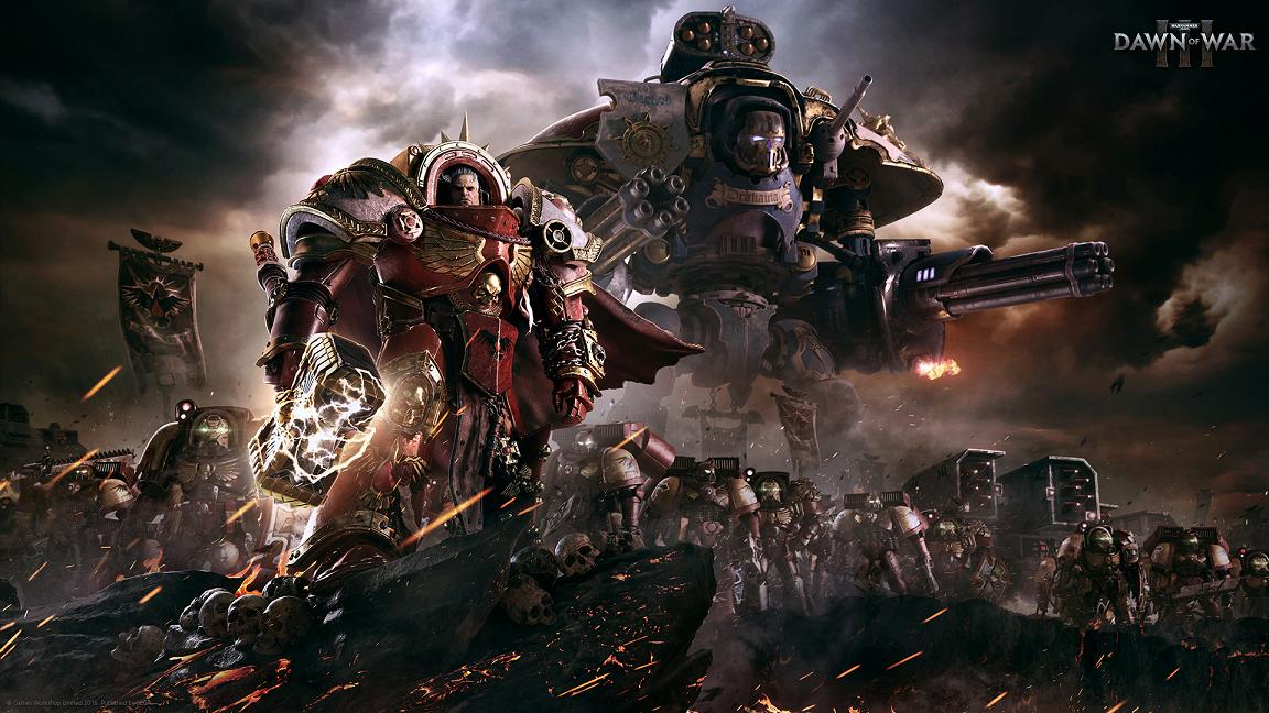 - Warhammer 40,000: Dawn of War III