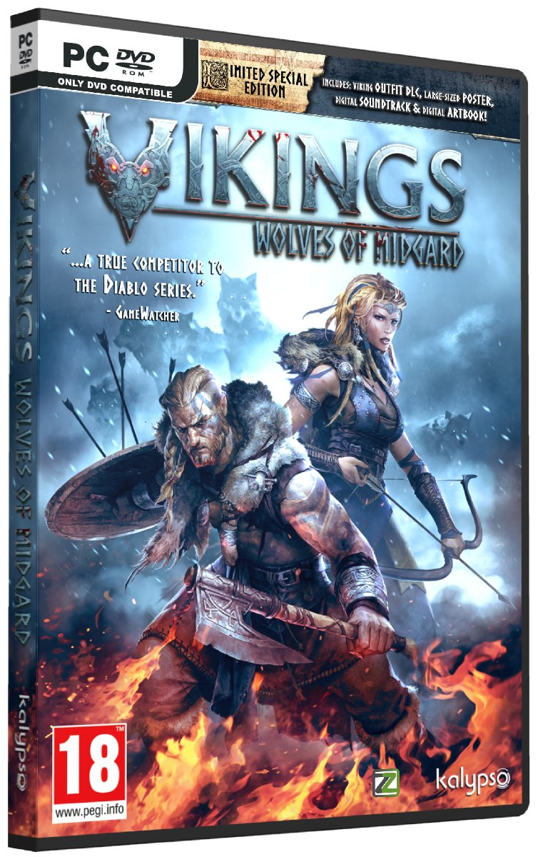 VIKINGS: Wolves of Midgard (Limited Special Edition) - PC