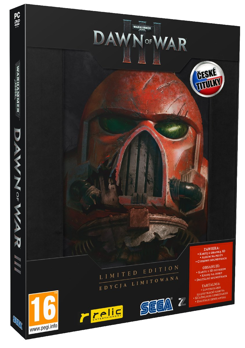 Warhammer 40,000: Dawn of War 3 (Limited Edition) - PC
