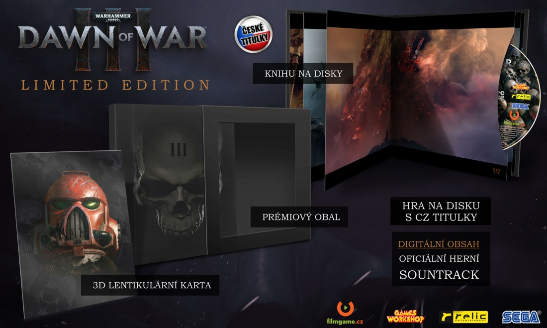 - Warhammer 40,000: Dawn of War 3 Limited Edition