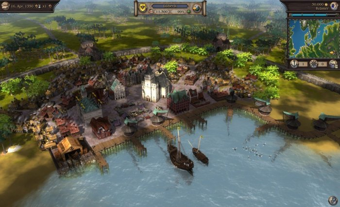 detail 2 HRY: Port Royale 3 (Gold Edition) & Patrician 4 (Gold Edition) - PC