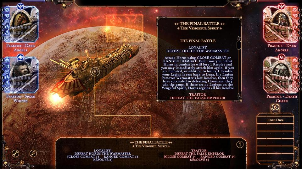 - Talisman: The Horus Heresy