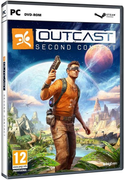 detail Outcast - Second Contact - PC