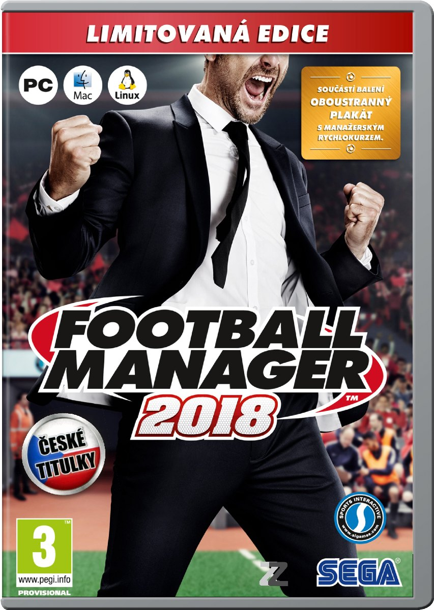 FOOTBALL MANAGER 2018 (Limited Edition) - PC