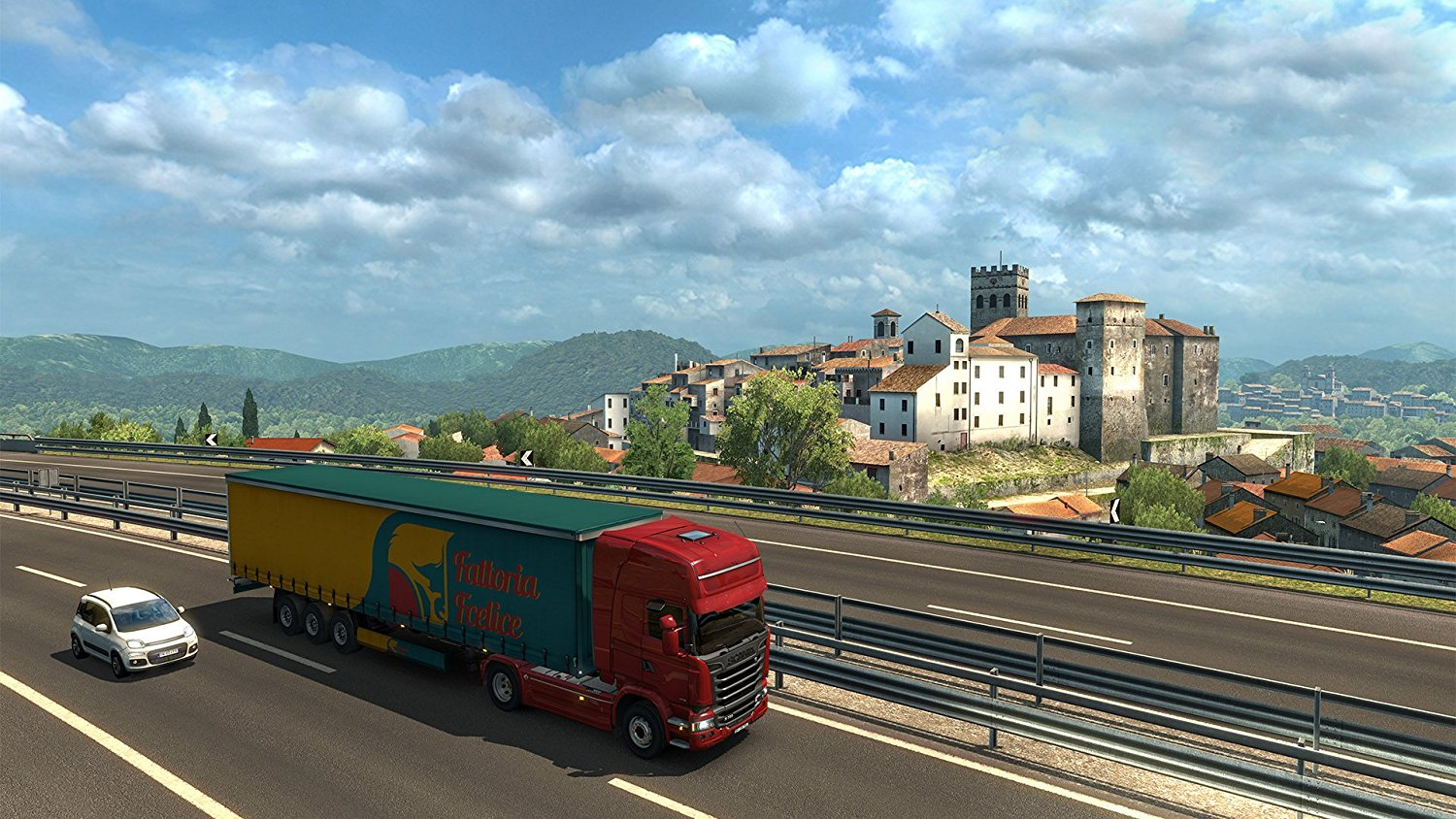 Euro Truck Simulator 2: Itálie pro PC hra
