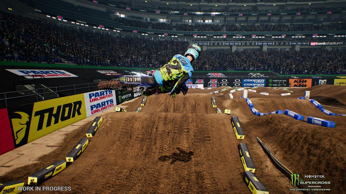 - Monster Energy Supercross – The Official Videogame