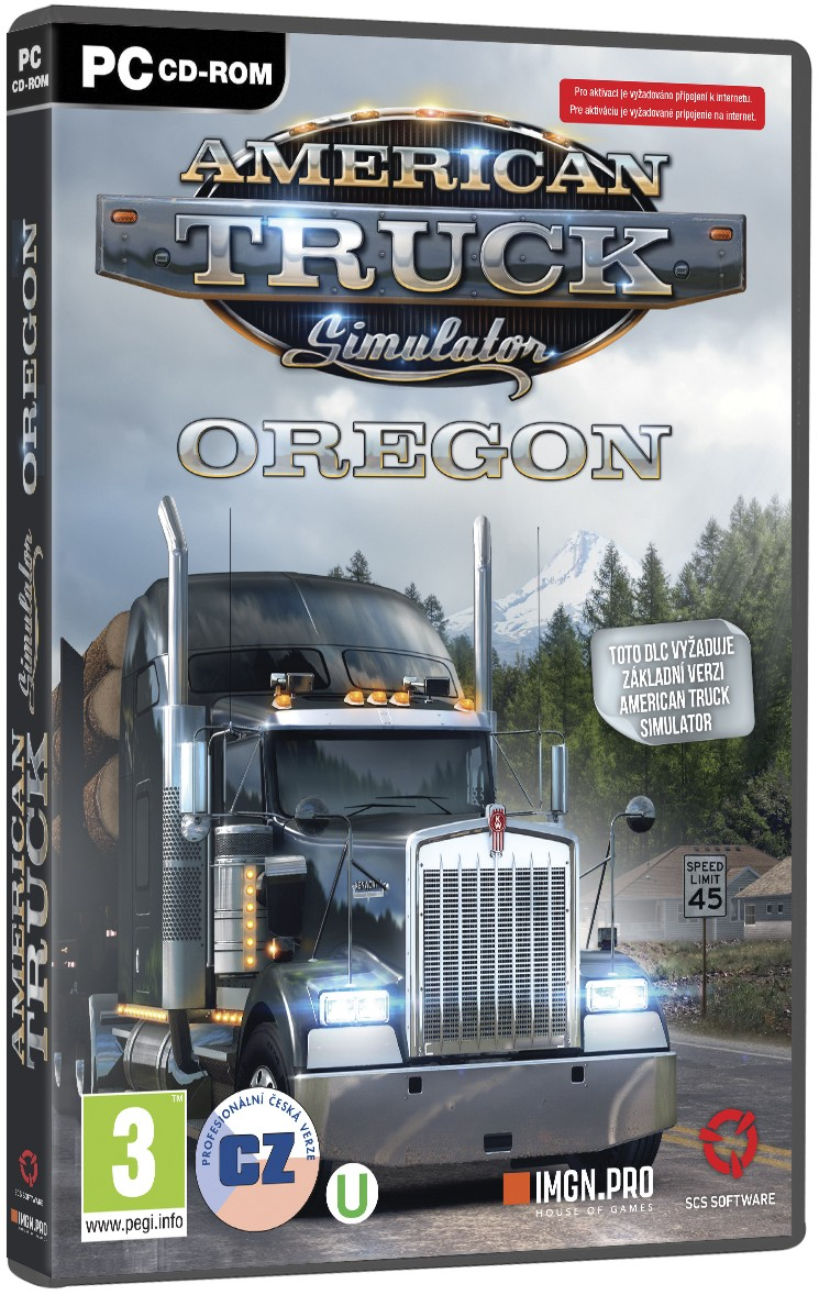 American Truck Simulator: Oregon (datadisk) - PC