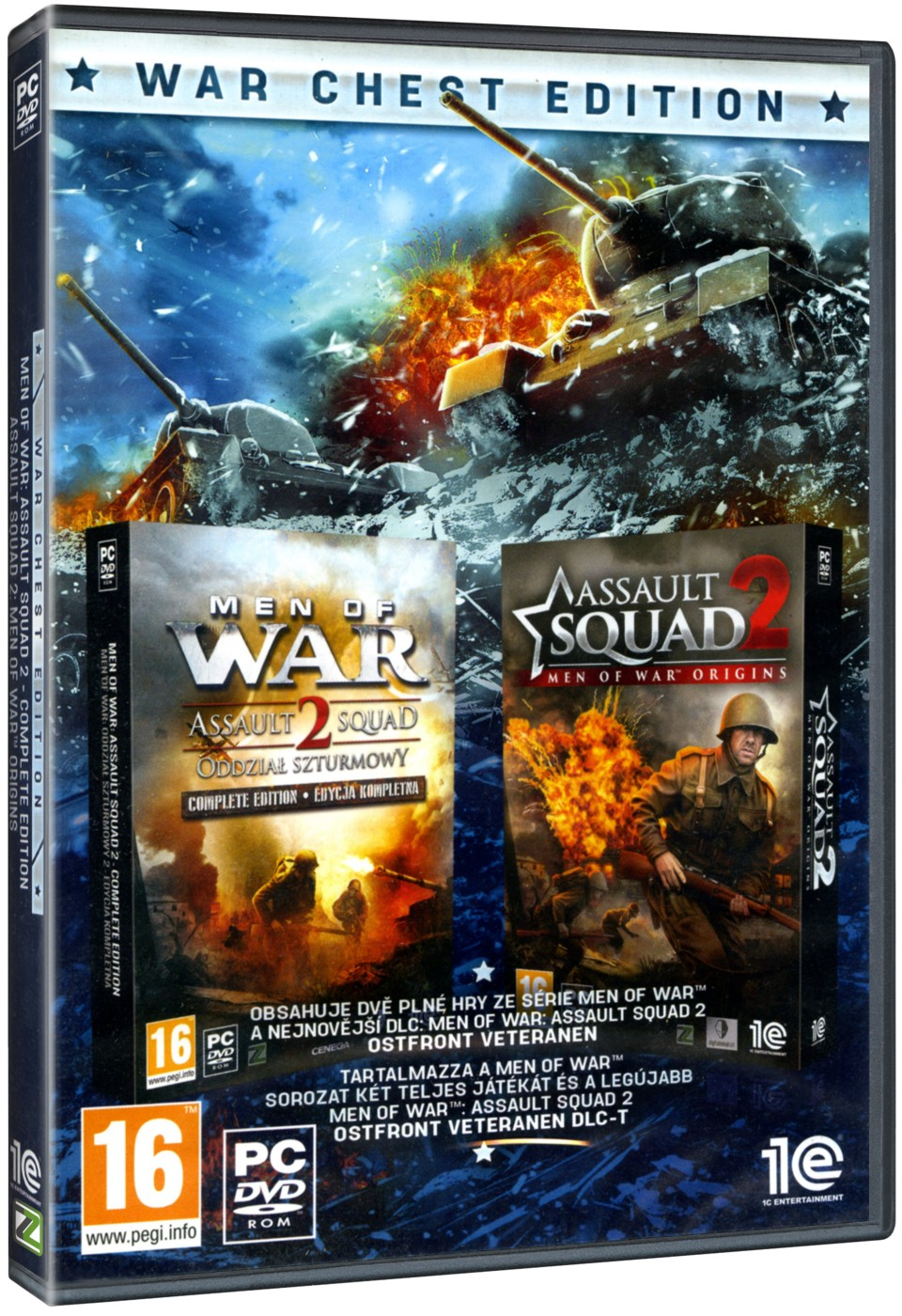 Men of War: Assault Squad 2 UE + Assault Squad 2 : Men of War Origins - PC