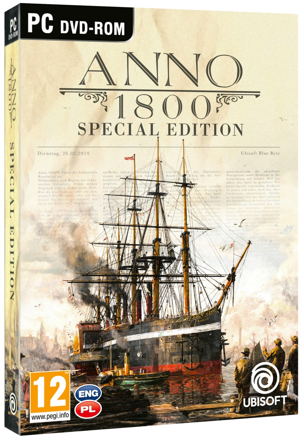 ANNO 1800 D1 Edition - PC
