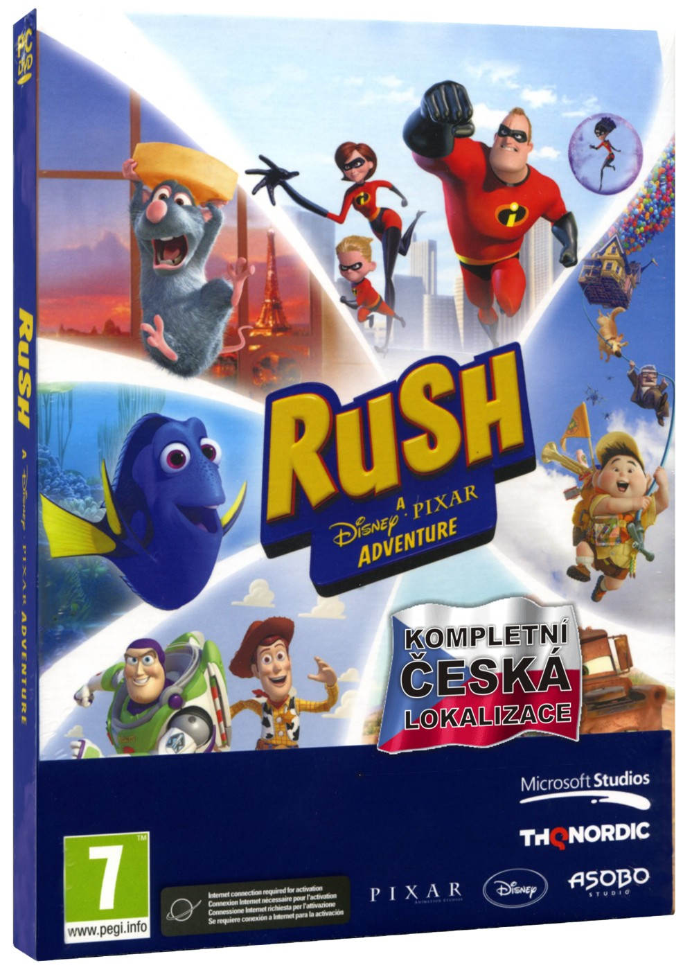 Rush - A Disney Pixar Adventure - PC