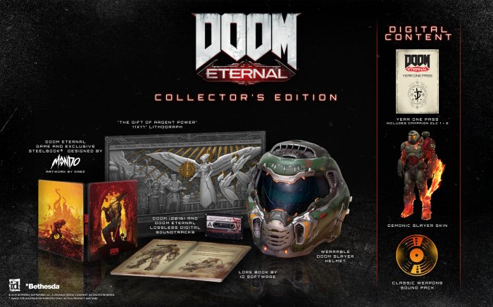 detail DOOM Eternal Collector's Edition - PC