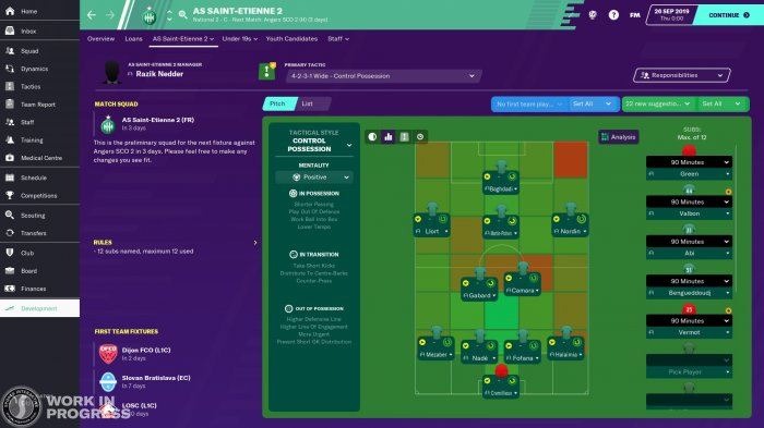 detail Football Manager 2020 - PC